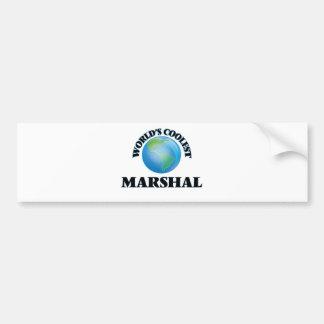 World's coolest Marshal Bumper Sticker
