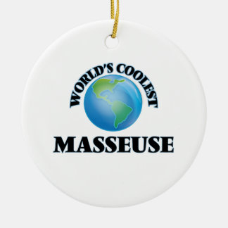 World's coolest Masseuse Christmas Ornament