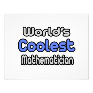 World's Coolest Mathematician Custom Invite