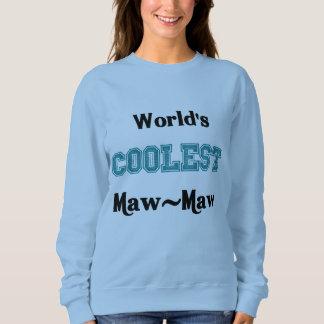 Worlds Coolest Maw-Maw Sweatshirt