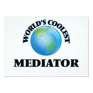 "World's coolest Mediator 5"" X 7"" Invitation Card"