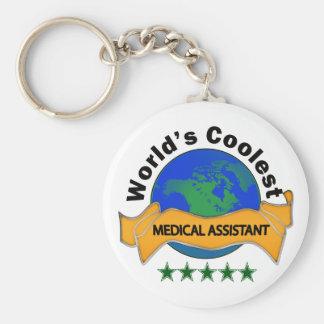 World's Coolest Medical Assistant Keychain