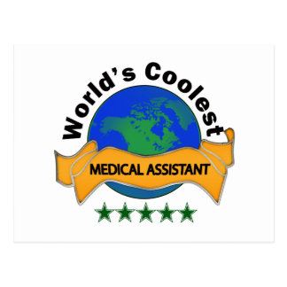 World's Coolest Medical Assistant Postcard