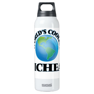 World's Coolest Micheal 16 Oz Insulated SIGG Thermos Water Bottle