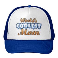Trucker Hat with World's Coolest Mom design