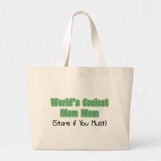 World's Coolest MomMom Jumbo Tote Bag