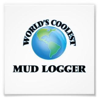 World's coolest Mud Logger Photo Print
