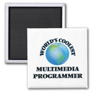 World's coolest Multimedia Programmer Fridge Magnets