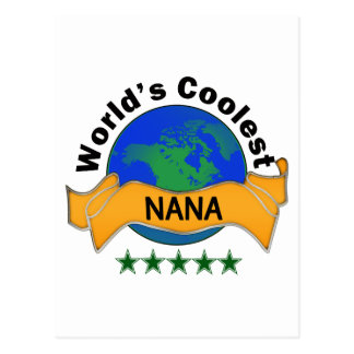 World's Coolest Nana Postcard