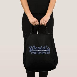 World's Coolest Nanny Tote Bag