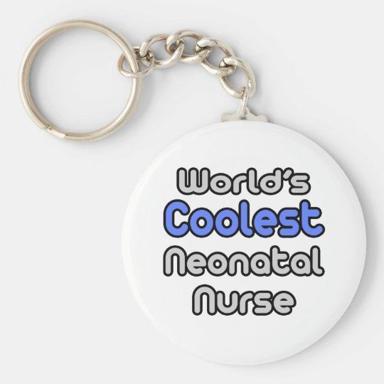 World's Coolest Neonatal Nurse Keychain