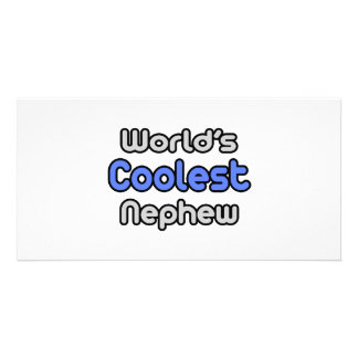 World's Coolest Nephew Photo Card