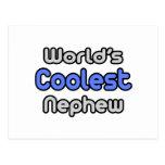 World's Coolest Nephew Postcards