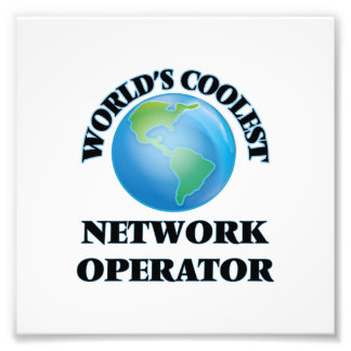 World's coolest Network Operator Art Photo