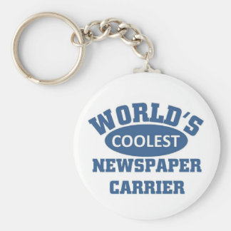 World's Coolest Newspaper Carrier Keychain