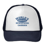 World's Coolest Newspaper Carrier Trucker Hat