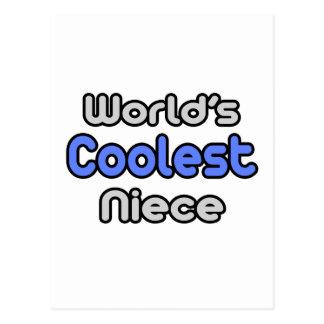 World's Coolest Niece Postcard