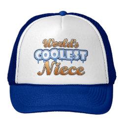 Trucker Hat with World's Coolest Niece design