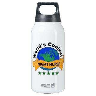 World's Coolest Night Nurse Thermos Water Bottle