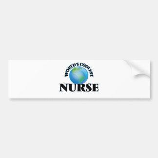 World's coolest Nurse Bumper Stickers