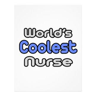 World's Coolest Nurse Personalized Flyer