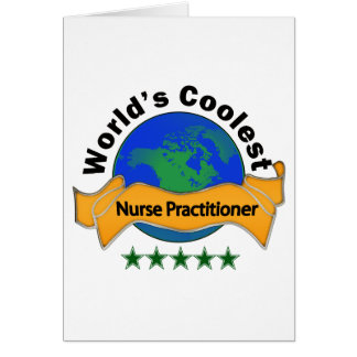 World's Coolest Nurse Practitioner Card