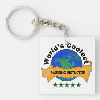 World's Coolest Nursing Instructor Acrylic Key Chain