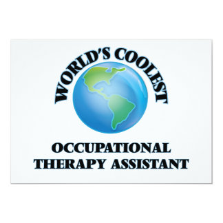 World's coolest Occupational Therapy Assistant Personalized Invites