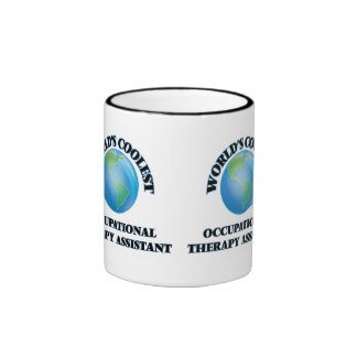 World's coolest Occupational Therapy Assistant Ringer Coffee Mug
