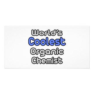 World's Coolest Organic Chemist Personalized Photo Card