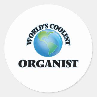 World's coolest Organist Sticker