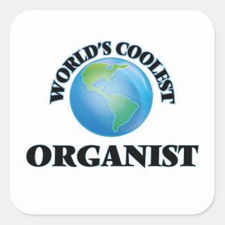 World's coolest Organist Stickers