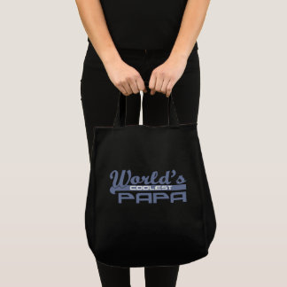 World's Coolest Papa Tote Bag