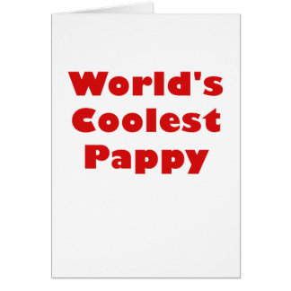 Worlds Coolest Pappy Card