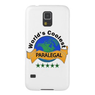 World's Coolest Paralegal Galaxy S5 Cover