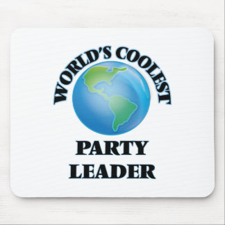 World's coolest Party Leader Mouse Pads