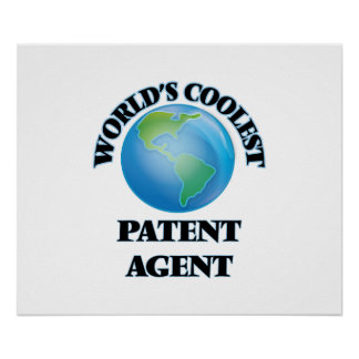 World's coolest Patent Agent Poster
