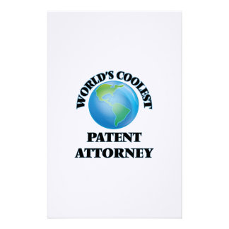 World's coolest Patent Attorney Stationery Design