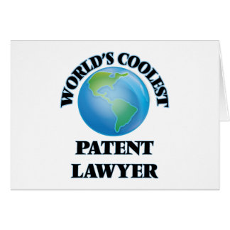 World's coolest Patent Lawyer Card