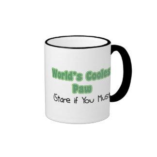 World's Coolest Paw Ringer Mug