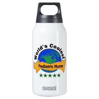 World's Coolest Pediatric Nurse Insulated Water Bottle