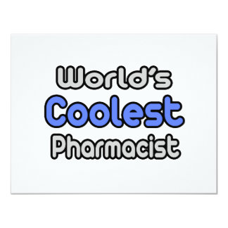 World's Coolest Pharmacist Card