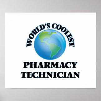 World's coolest Pharmacy Technician Poster