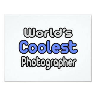World's Coolest Photographer Card