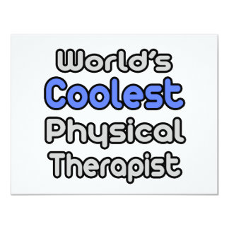 World's Coolest Physical Therapist Invite