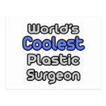 World's Coolest Plastic Surgeon Postcard