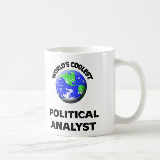 World's Coolest Political Analyst Coffee Mug