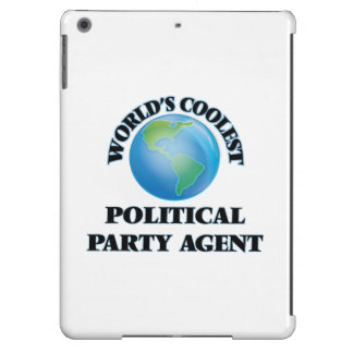 World's coolest Political Party Agent iPad Air Covers