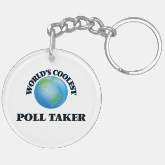 World's coolest Poll Taker Acrylic Key Chain