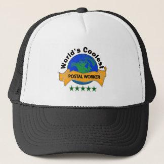 World's Coolest Postal Worker Trucker Hat